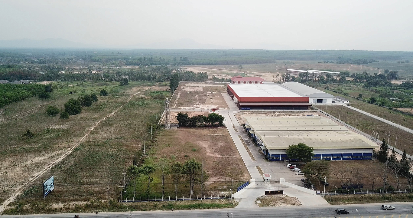 A new factory was built in RAYONG, Thailand